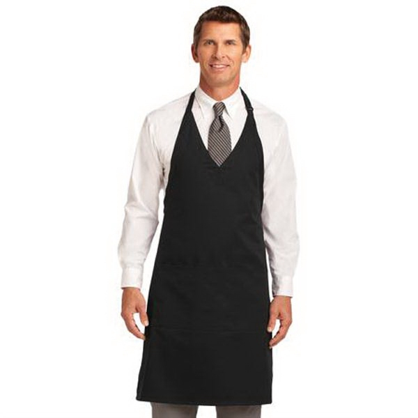 Port Authority Easy Care Tuxedo Apron with Stain Release.