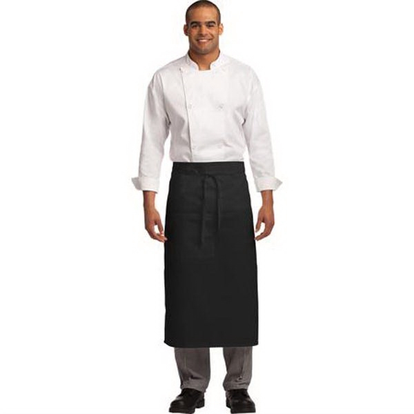 Port Authority Easy Care Full Bistro Apron with Stain Releas