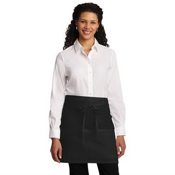 Port Authority Easy Care Half Bistro Apron with Stain Releas
