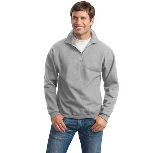 JERZEES SUPER SWEATS - 1/4-Zip Sweatshirt with Cadet Collar.