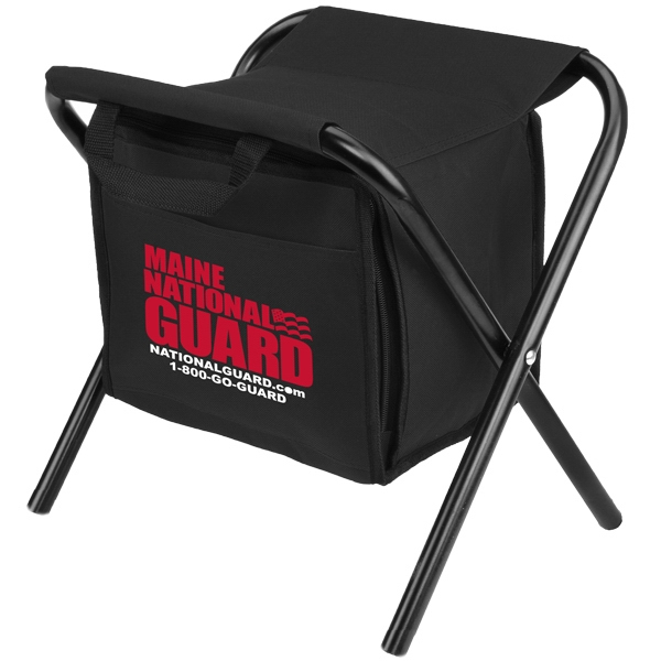 Leisure Cooler Chair - Folding cooler chair that holds up to 12 cans.