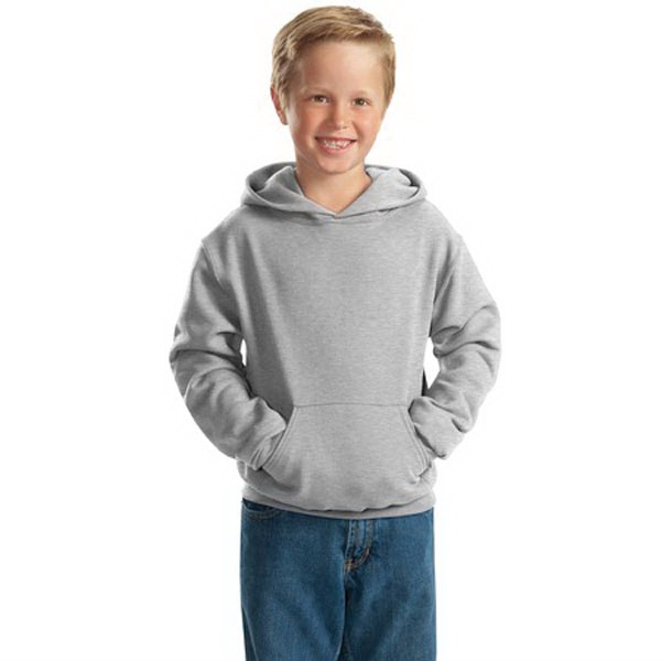 JERZEES - Youth NuBlend Pullover Hooded Sweatshirt.