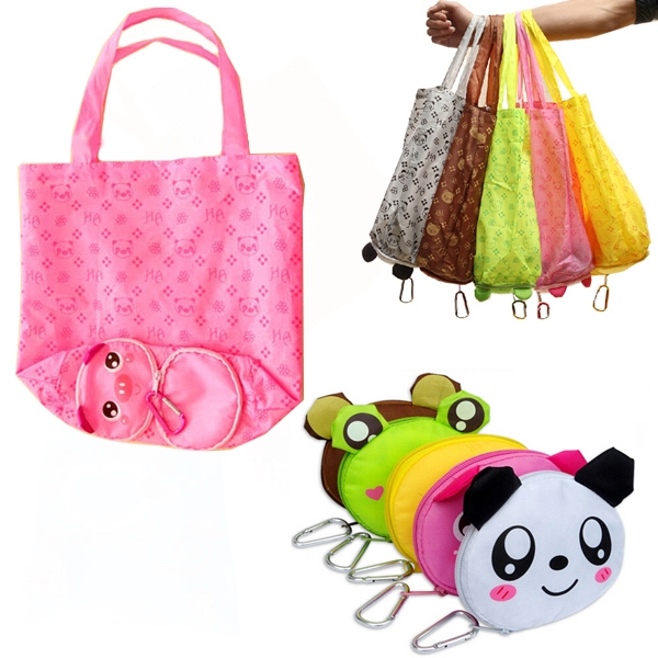 Cartoon Folding Tote