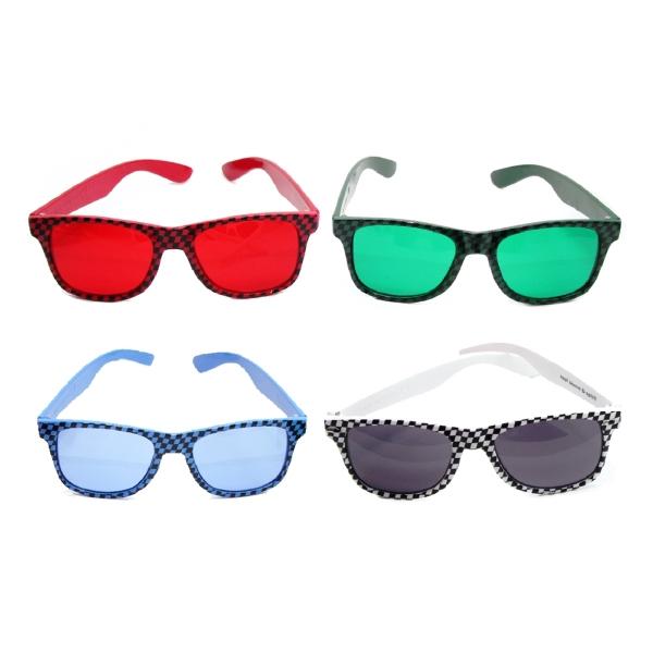 Checkered Sunglasses