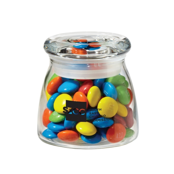 Glass Vibe Jar with M&Ms®
