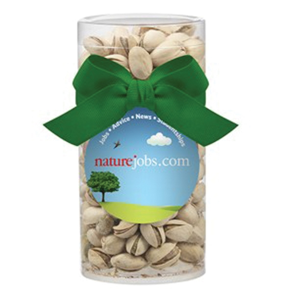 Large Gift Tube with Pistachios