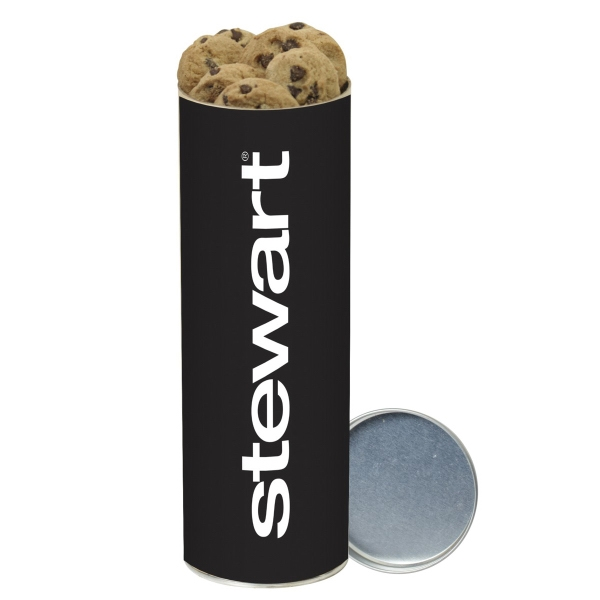 Mini Chocolate Chip Cookies in Large Snack Tube
