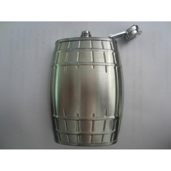Barrel shape flask