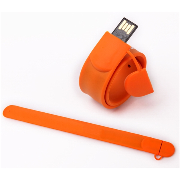 AP Slap Style Wristband USB