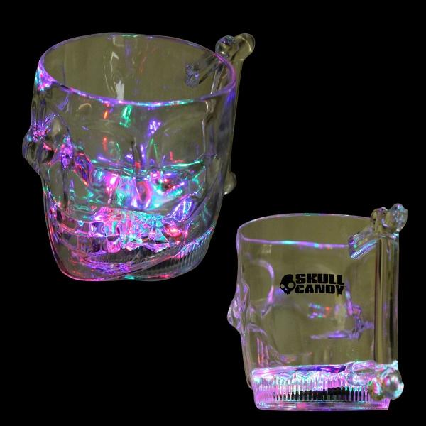 16 oz LED Skull Mug