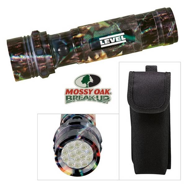 Mossy Oak(R) Camouflage Aluminum LED Flashlight
