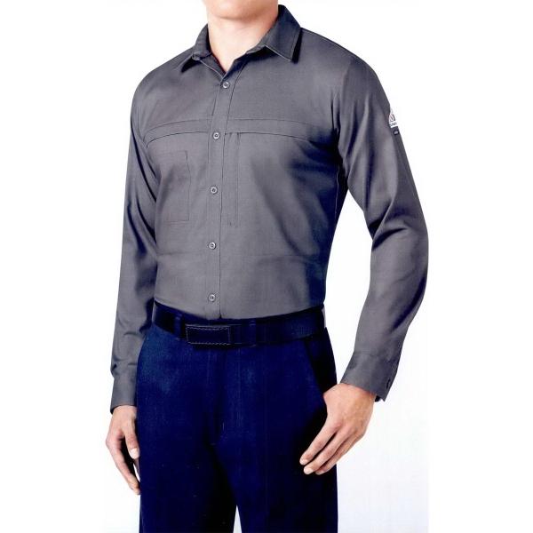 Comfort Woven Concealed Pocket Shirt