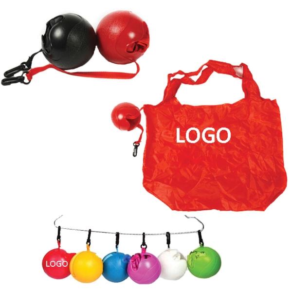 Ball Shaped Folding Shopping Bag