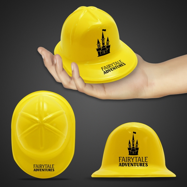 Mini Yellow Construction Hat