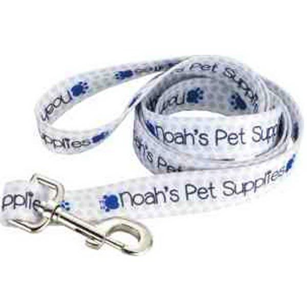 """Full Color 1"""" Wide Premium Pet Leash"""