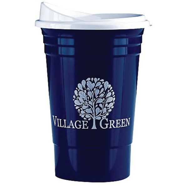 Ultimate Party Cup 16 Oz with Lid