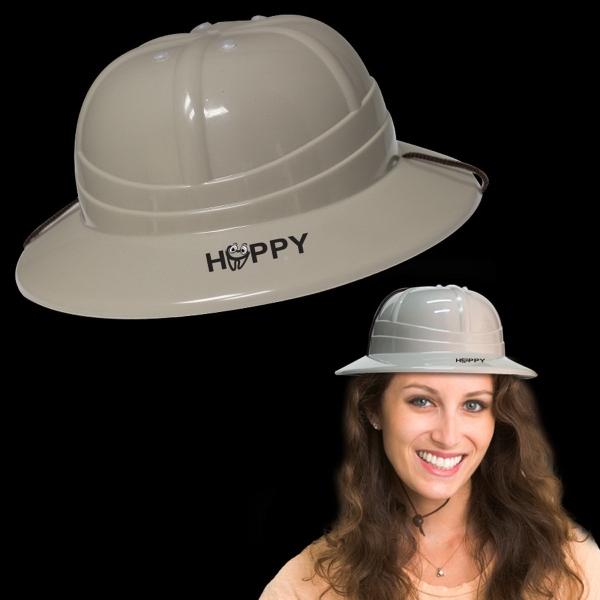 Plastic Adjustable Safari Pith Helmet Hat
