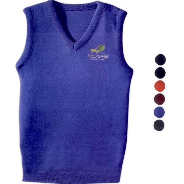 Unisex Value V-Neck Vest