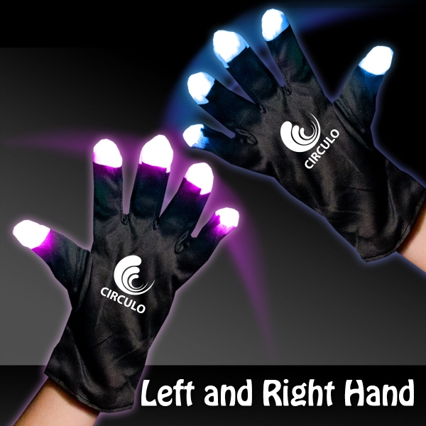 Light Up LED Glow Rave Gloves