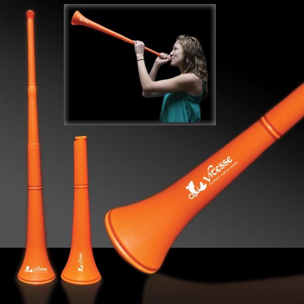Orange Collapsible Stadium Horn