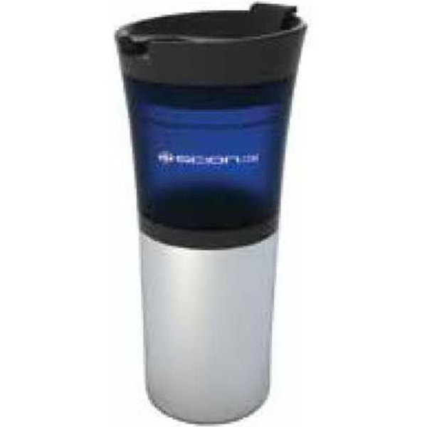 16oz Transparent Body and Stainless Steel Base