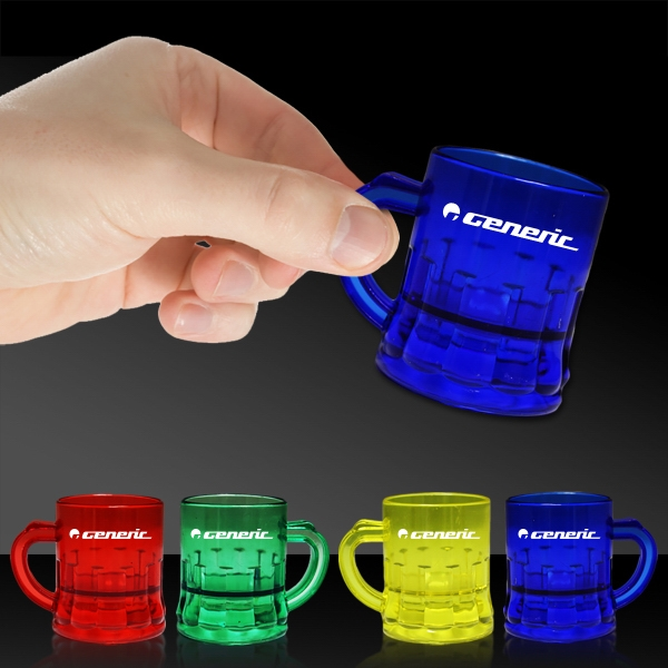 1 oz Mug Shaped Mini Shot Glass