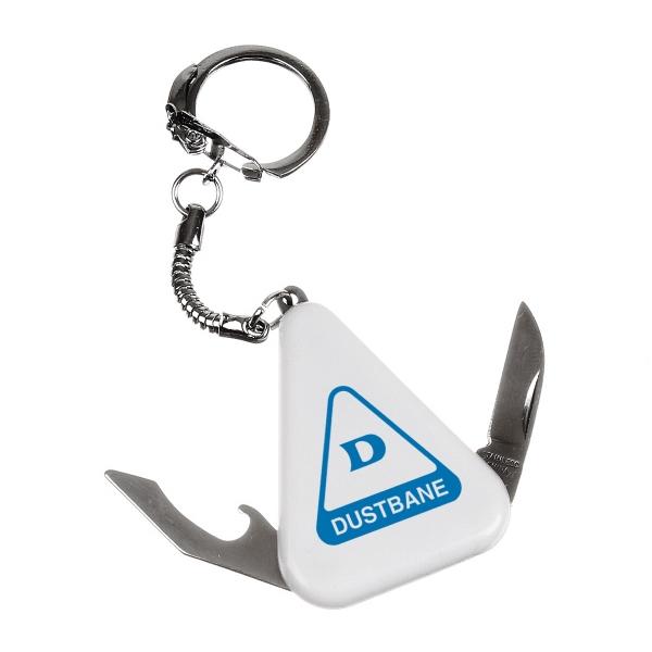 Knife &  Bottle Opener Keychain