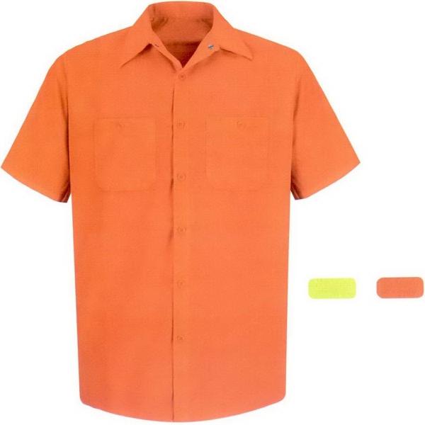 Men's Enhanced Visibility Long Sleeve Work Shirt