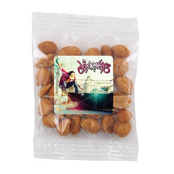 Bountiful Bag with Honey Roasted Peanuts- Full Color Label - Bountiful Bag with Honey Roasted Peanuts- Full Color Label