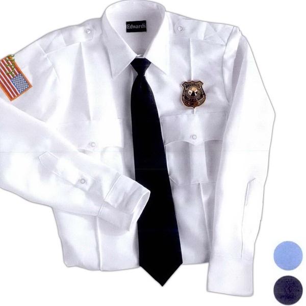Unisex Polyester Long Sleeve Security Shirt