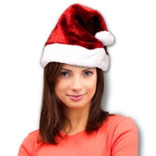 Adult Santa Plush Hat