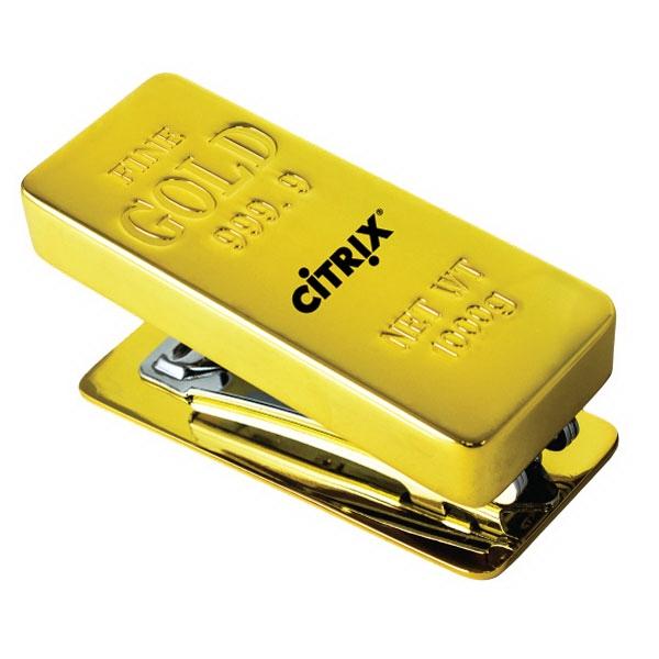 Gold Bar Stapler