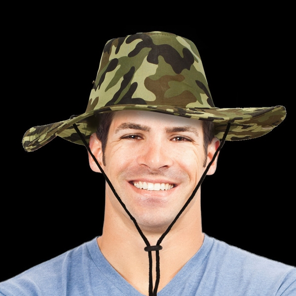 Camouflage Western  Cowboy Hat