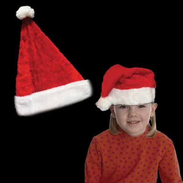 Plush Santa Hat Child's Size