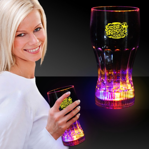 12 oz. LED Light Up Drink Glass