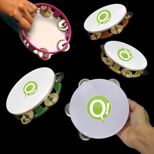 """5 1/2"""" Plastic Tambourines"""