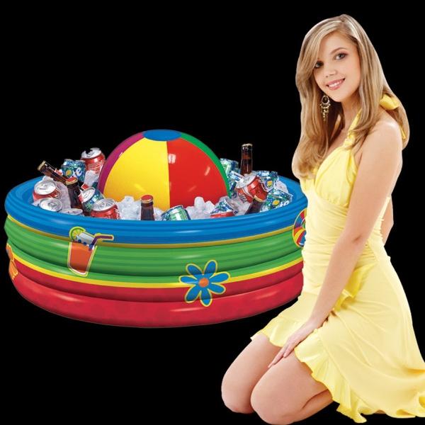 Inflatable Beach Ball Cooler