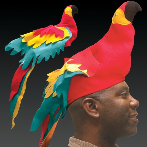 Novelty Parrot Hat