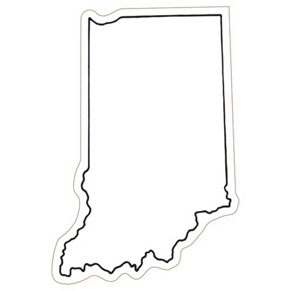 Indiana State Stock Magnet - State Stock Magnet.