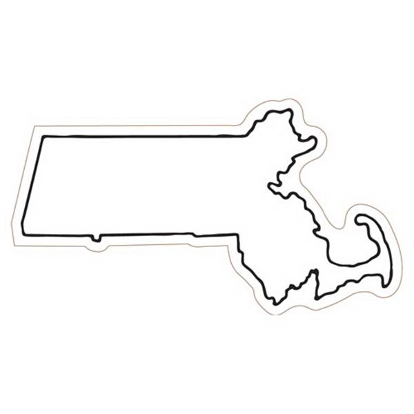 Massachusetts State Magnet