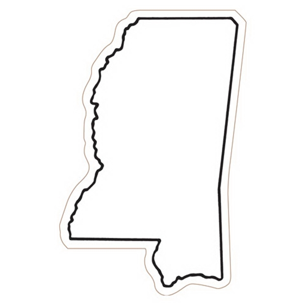 Mississippi State Stock Magnet - State Stock Magnet.