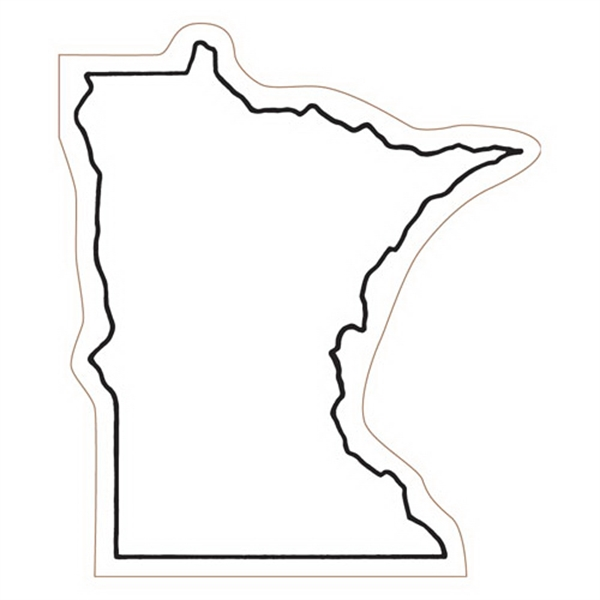 Minnesota State Stock Magnet - State Stock Magnet.