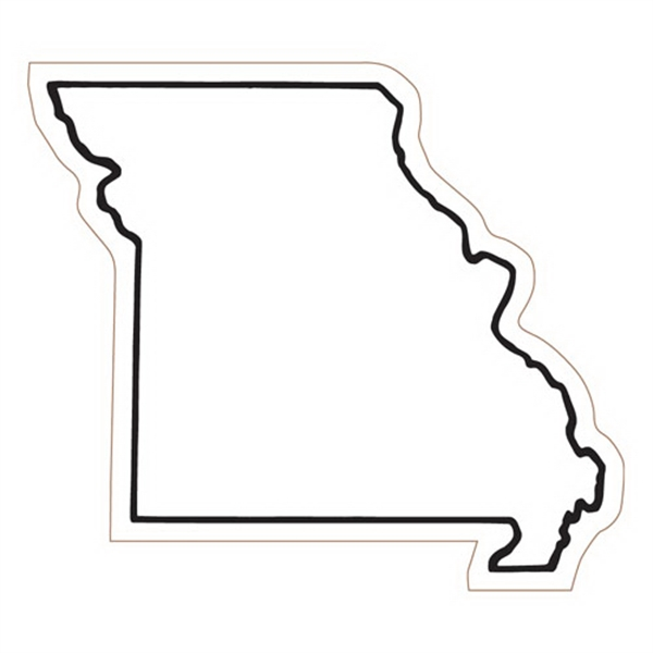 Missouri State Stock Magnet - State Stock Magnet.
