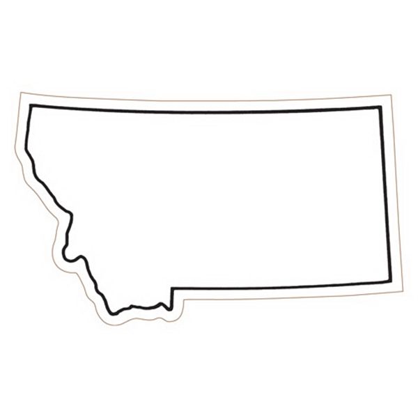 Montana State Stock Magnet - State Stock Magnet.