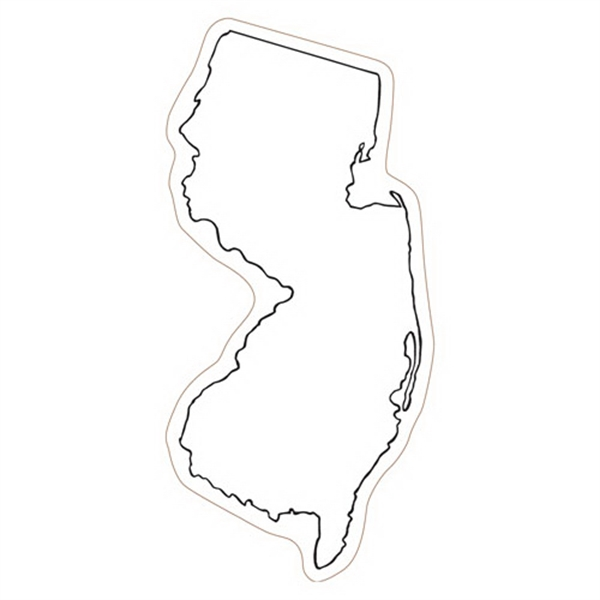New Jersey State Stock Magnet - State Stock Magnet.