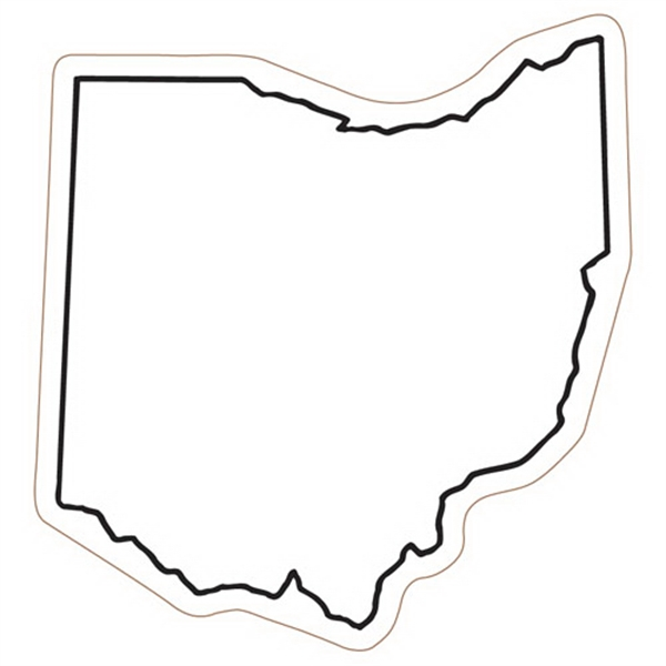 Ohio State Stock Magnet - State Stock Magnet.