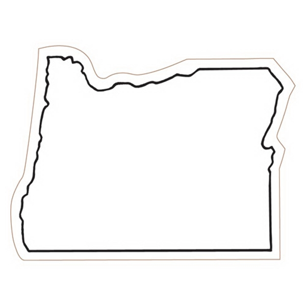 Oregon State Stock Magnet - State Stock Magnet.