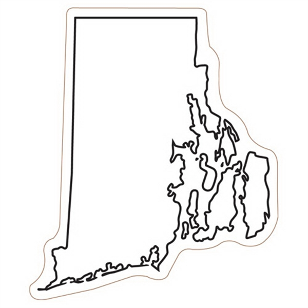 Rhode Island State Stock Magnet - State Stock Magnet.