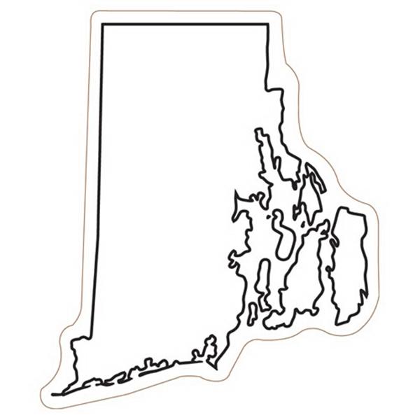 Rhode Island State Magnet