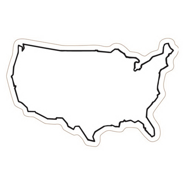 U.S.A Stock Magnet - State Stock Magnet.